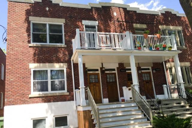 Cet appartement deNotre-Dame-de-Grâce a été vendu 390 000$... (Photo fournie par la courtière)