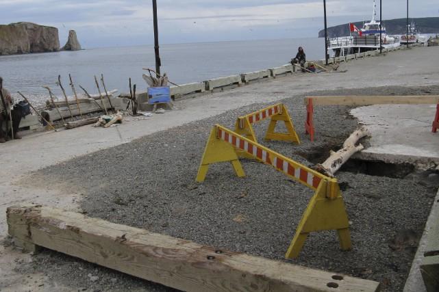 Pêches et Océans Canada reconstruira le quai de... (Collaboration spéciale Geneviève Gélinas)