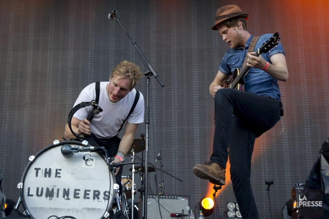 The Lumineers sera sur la scène du Bluesfest... (PHOTO ARCHIVES LA PRESSE)