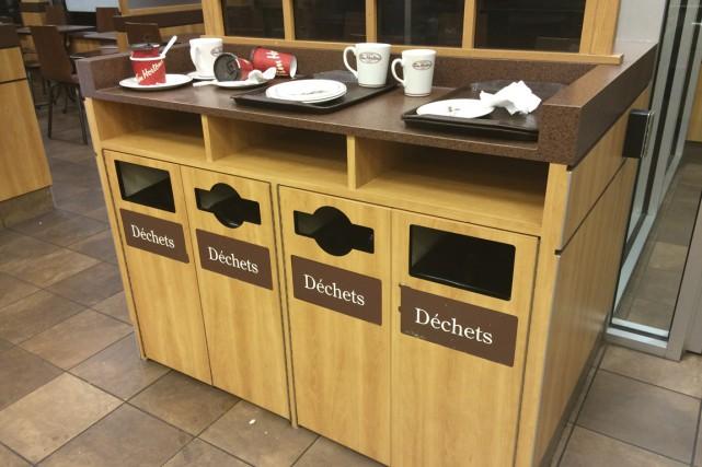 Le recyclage ne semble plus faire partie des...