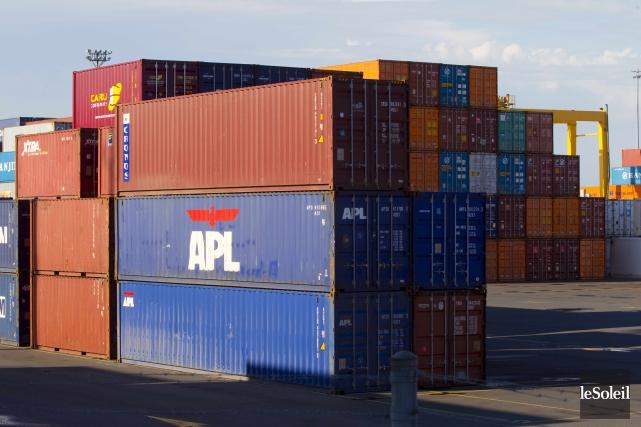 Le déficit commercial canadiendu mois d'avril a atteint... (Photothèque Le Soleil)