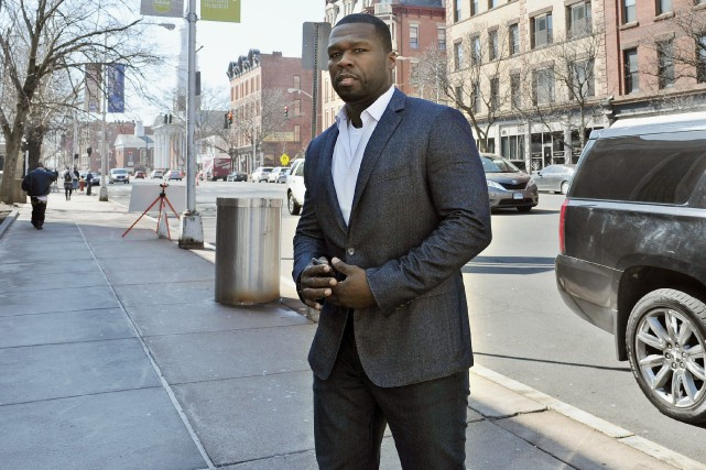 Le rappeur 50 Cent 50 Cent avait demandé son... (Photo Jessica Hill, archives AP)
