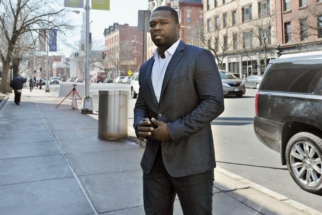 Le rappeur 50 Cent50 Cent avait demandé son... (Photo Jessica Hill, archives AP)