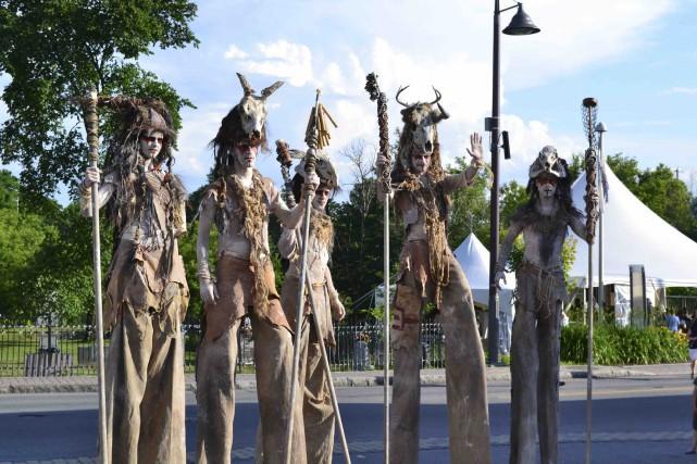 Les Tribals d'Artefact et artifices... (Fournie par le Festival d'été)