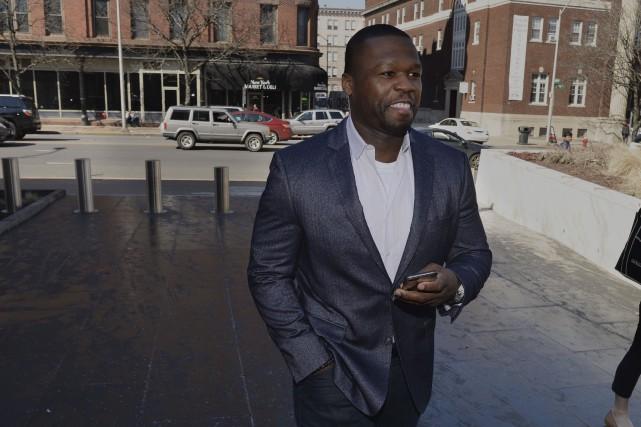 50 Cent lors de son audience en mars... (AFP, Steve Miller)