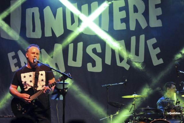La formation québécoise Origin of Muse a rendu... (Photo Le Quotidien, Rocket Lavoie)