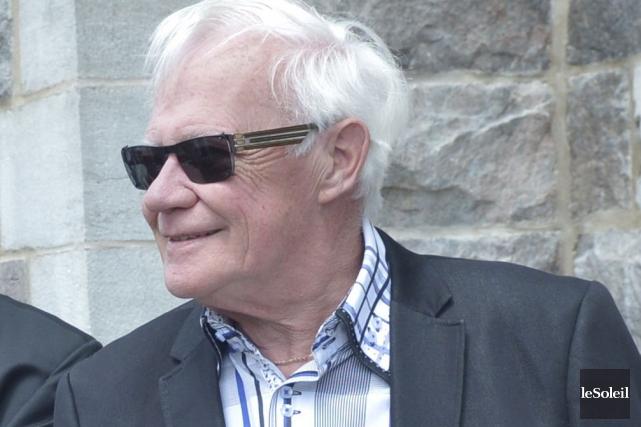 Le chroniqueur politique J.-Jacques Samson, en mai 2015... (Photothèque Le Soleil, Jean-Marie Villeneuve)