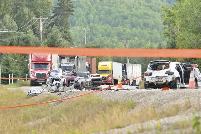 Cet accident s'était produit en août 2012 et... (Archives)