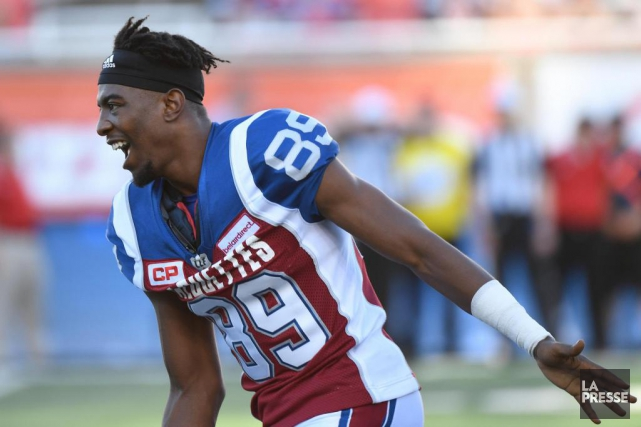 Duron Carter... (PHOTO BERNARD BRAULT, LA PRESSE)