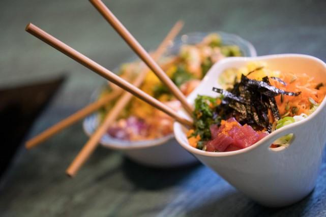 Le poke est un plat hawaiien de poisson... (Photo Ivanoh Demers, La Presse)