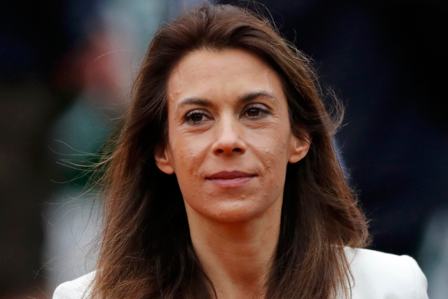 L'ancienne joueuse de tennis Marion Bartoli à Roland-Garros... (Photo Benoit Tessier, archives Reuters)
