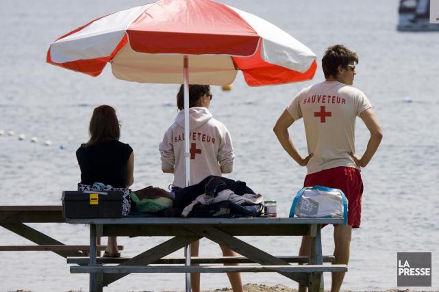 La qualité de l'eau de la plage des Cantons, à Magog s'est détériorée, forçant... (Archives La Presse)