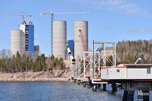 La facture du projet de la cimenterie McInnis... (Photo fournie par Ciment McInnis)