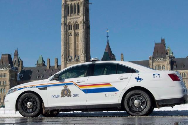 La Gendarmerie royale du Canada (GRC) remanie le programme fédéral de... (Archives La Presse Canadienne)