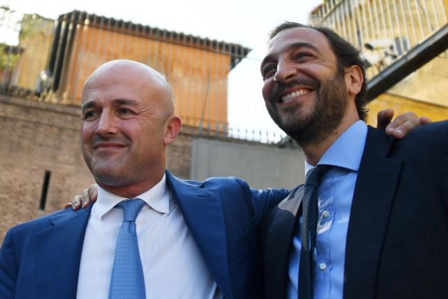 La décision de traduire en justice les deux... (PHOTO GABRIEL BOUYS, AFP)