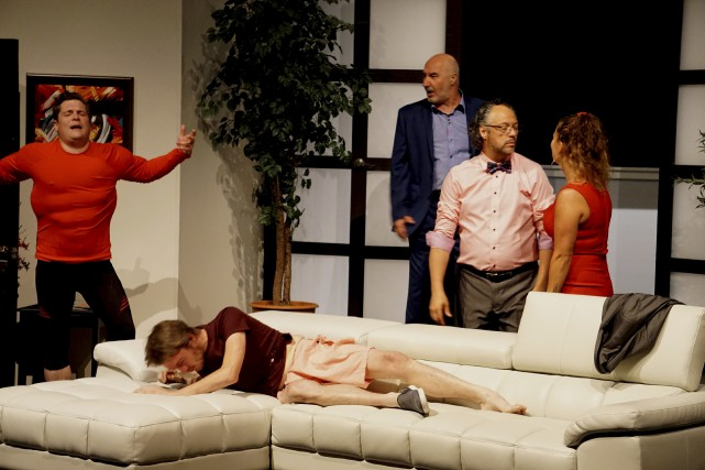 Après une première partie relativement tranquille, les acteurs... (France Lamothe)