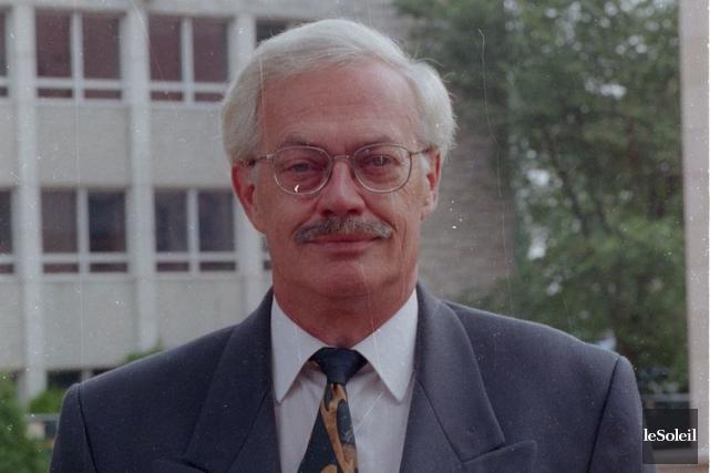 J.-Jacques Samson en 1999, alors qu'il était directeur... (Archives Le Soleil)