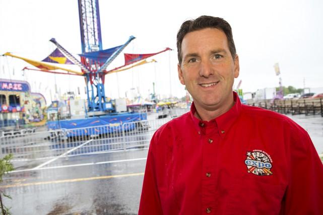 Le président de l'Expo de Trois-Rivières, Ghislain Demers.... (Olivier Croteau)
