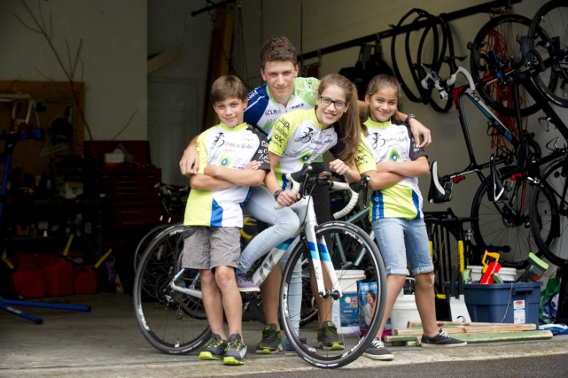 Carl (10 ans), Anthony (14 ans), Catherine (12... (Sylvain Mayer)