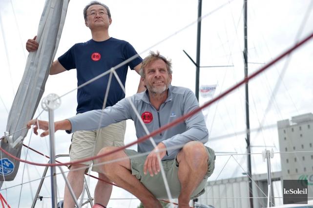 L'homme d'affaires japonais Hiroshi Kitada a profité d'une... (Le Soleil, Yan Doublet)
