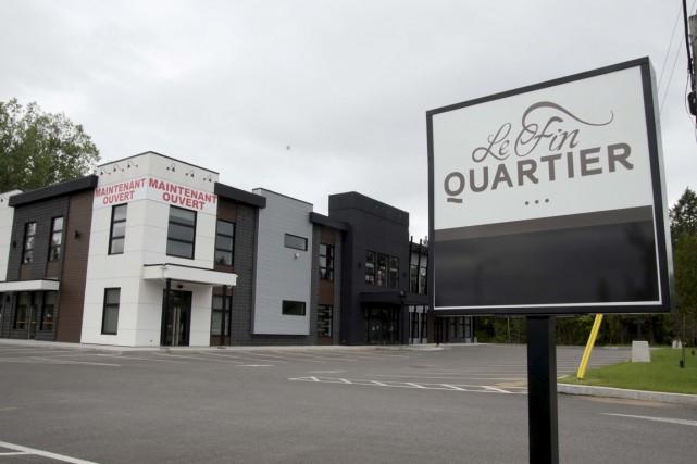 Le Fin quartier avait été inauguré en septembre... (Sylvain Mayer)