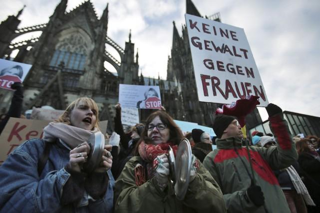 Dans la foulée des agressions sexuelles du Nouvel... (AP, Oliver Berg)