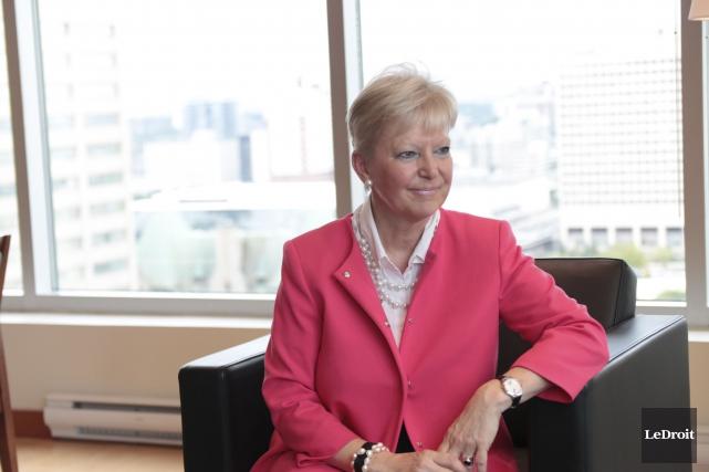 Marie-Anne Coninxs, ambassadeur de l'Union européenne au Canada... (Etienne Ranger, LeDroit)