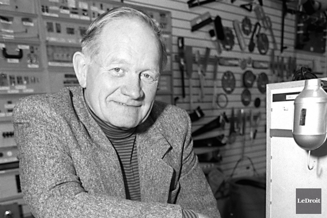 Leonard Lee, le fondateur de l'entreprise Lee Valley Tools, est décédé jeudi à... (Archives, LeDroit)