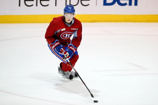 Mikhail Sergachev a séduit la direction du Canadien... (PHOTO ROBERT SKINNER, LA PRESSE)