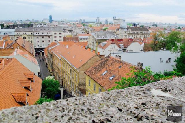 Vue de Zagreb, la capitale croate.... (Photo Nathaëlle Morissette, La Presse)