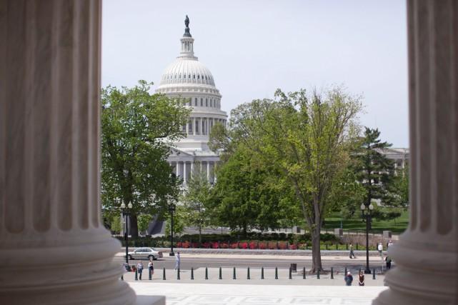 Le Capitole, à Washington... (PHOTO CAROLYN KASTER, ARCHIVES AP)