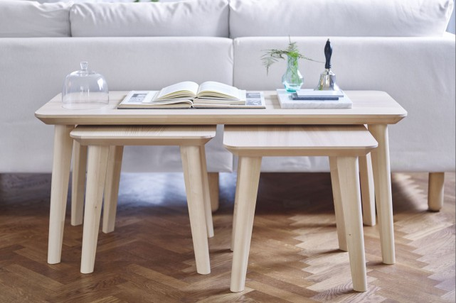 La collection de tables Lisabo... (Photo fournie par IKEA)