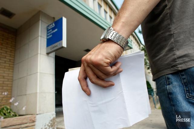 Le marché de l'emploi du Canada est demeuré stable en juin alors que les gains... (Archives La Presse)