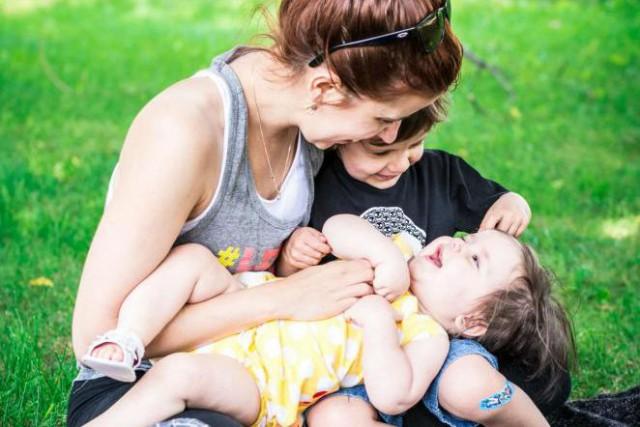 Marja Monette, auteure du blogue La parfaite maman... (Photo fournie par Marja Monette)