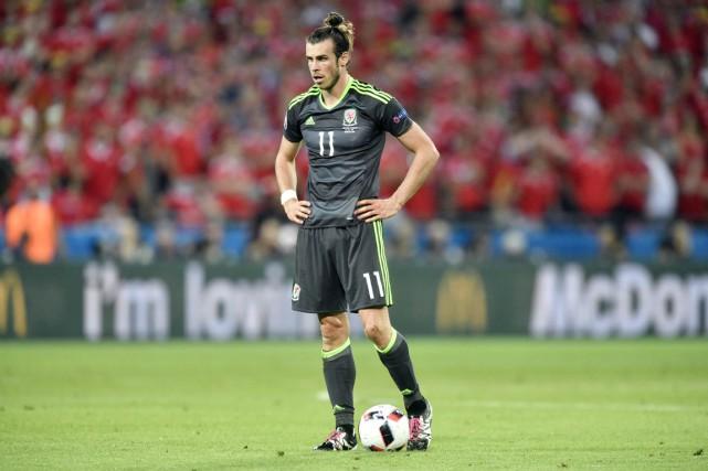 Le Gallois Gareth Bale, faisant partie du trio...