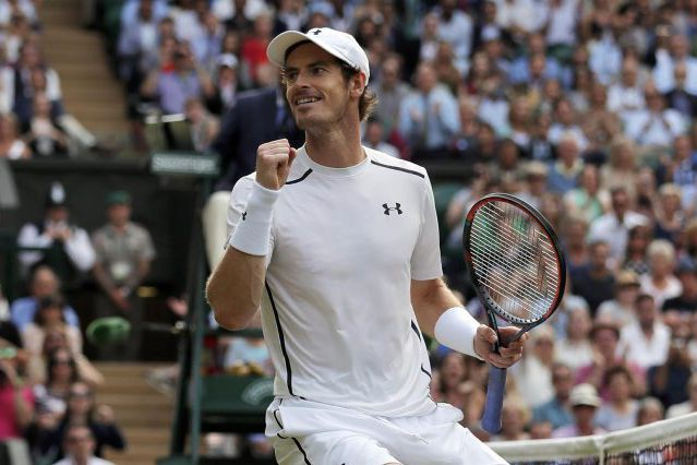 L'Écossais Andy Murray.... (PHOTO Andrew Couldridge, REUTERS)