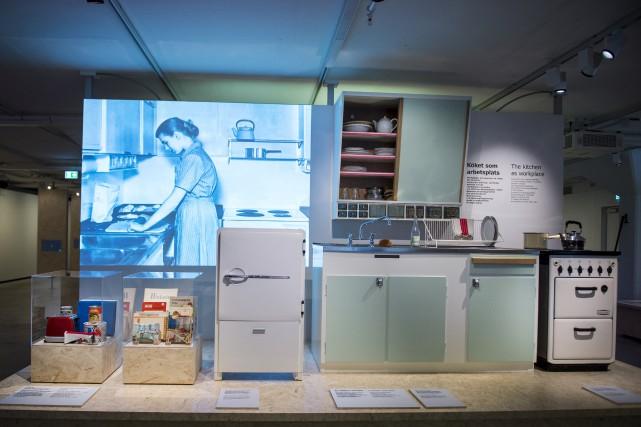 Une cuisine suédoise du début des années 60... (AFP, Emil Langvad)