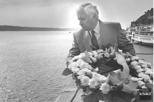 En septembre 1988, le maire Jean Pelletier avait... (Archives Le Soleil, Jean-Marie Villeneuve)