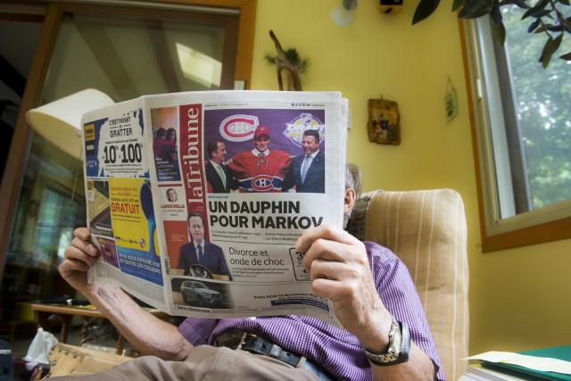 Un homme de 90 ans s'étant payé des... (Spectre Média, Julien Chamberland)