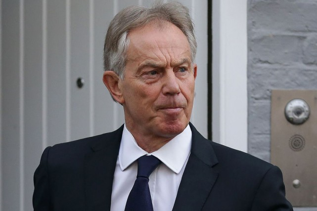 L'ex-premier ministre britannique Tony Blair a affirmé que l'implication... (Archives AFP, Daniel Leal-Olivas)
