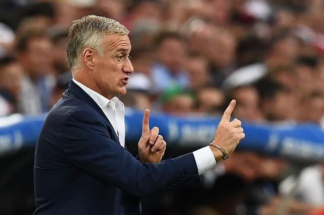 Jusqu'à présent, Didier Deschamps a dirigé de façon... (Photo AFP)