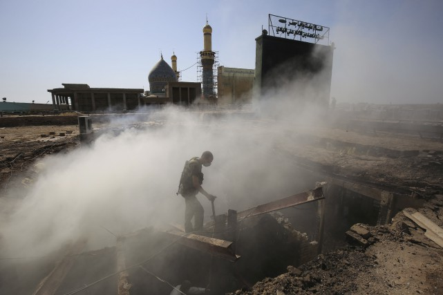 Alors que les services de sécurité ont été... (AFP, Ahmad al-Rubaye)