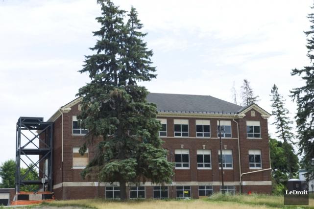 Le projet de la Maison de la francophonie d'Ottawa à l'ancienne école Grant,... (Martin Roy, LeDroit)