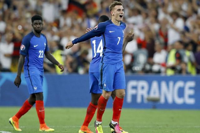 Depuis le début de l'Euro 2016, Antoine Griezmann... (AP, Frank Augstein)