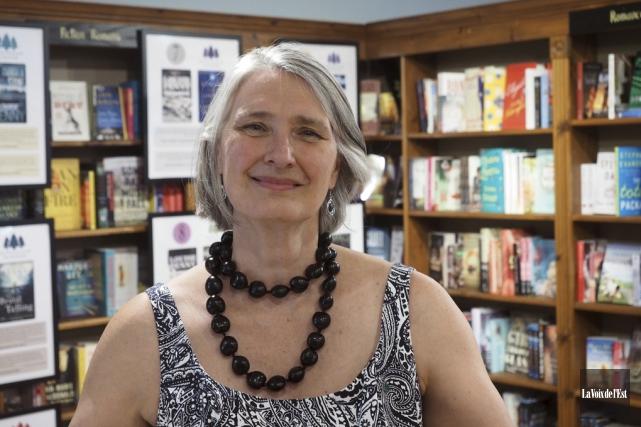 L'écrivaine Louise Penny... (Alain Dion, La Voix de l'Est)
