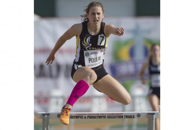 Marie-Frédérique Poulin... (Yves Longpré/Athlétisme Québec)
