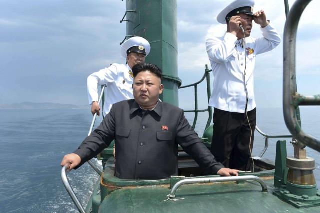La Corée du Nord a effectué samedi un tir d'essai d'un missile balistique lancé... (Photo archives Reuters)