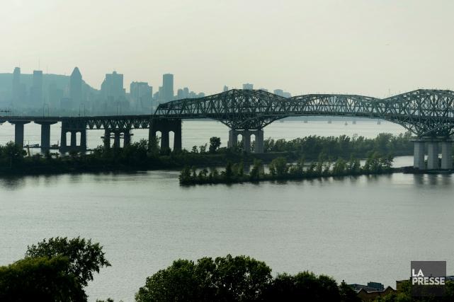 Le pont Champlain sera complètement fermé durant toute... (Archives La Presse)