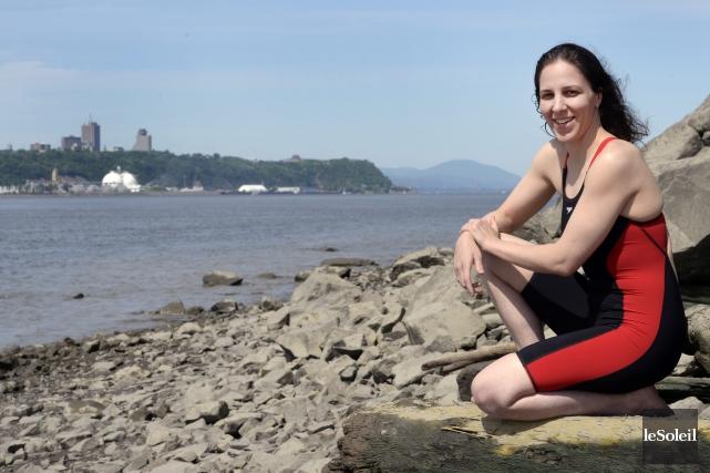 La «Sirène du Québec», Heidi Levasseur, entreprendra le... (Archives Le Soleil, Jean-Marie Villeneuve)
