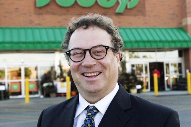 Marc Poulin, en 2013, après l'achat de Safeway... (La Presse Canadienne, Nathan Denette)